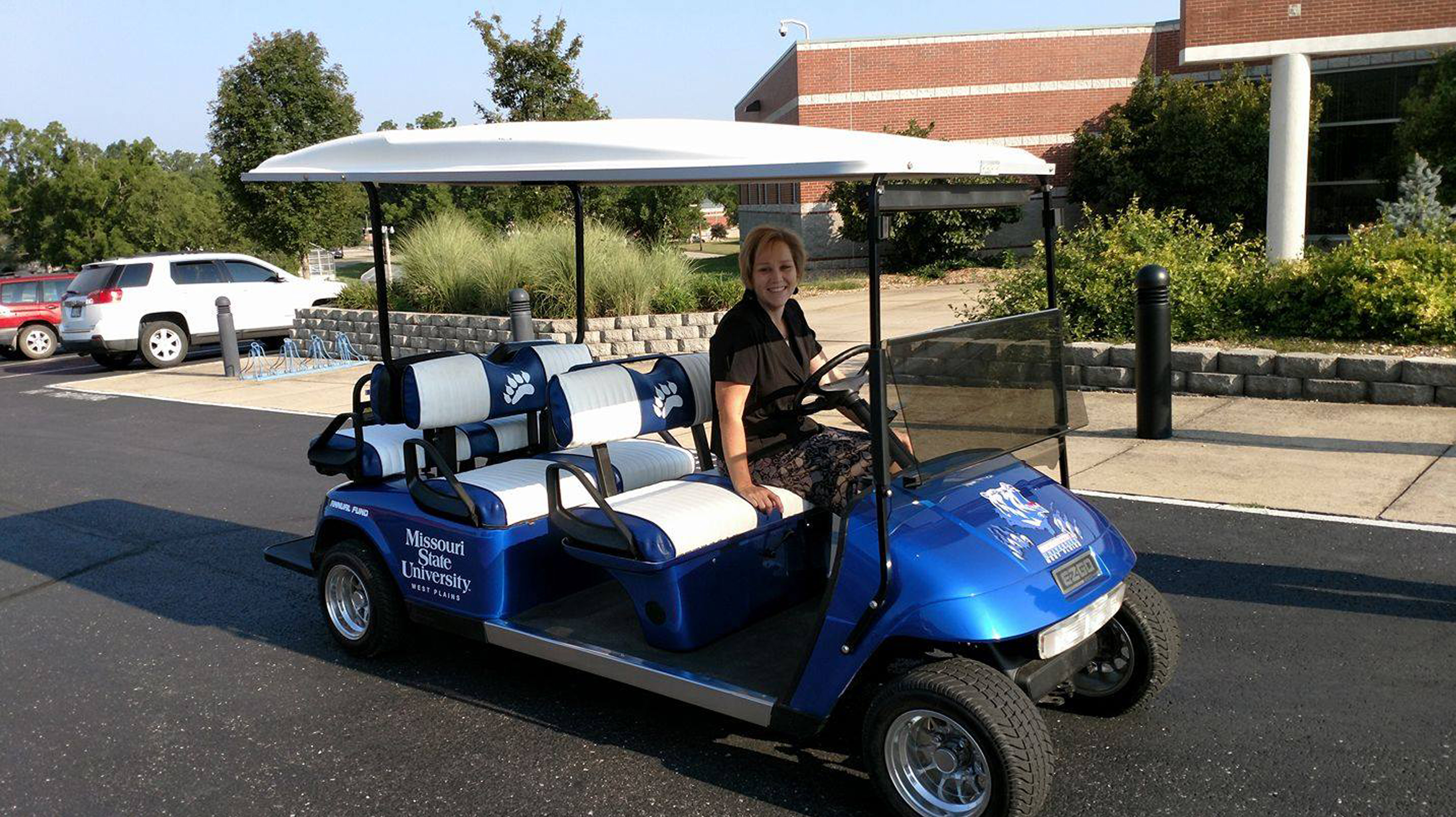 Missouri State University Golf Cart