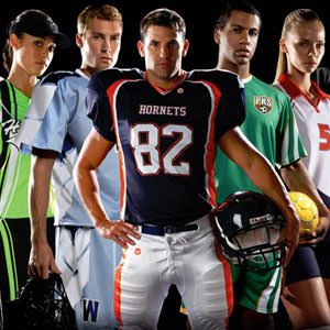 Custom jerseys and sports apparel