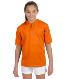 Augusta Sportswear Youth Wicking Two-Button Jersey