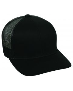 Outdoor Cap Trucker Snap-back (black)