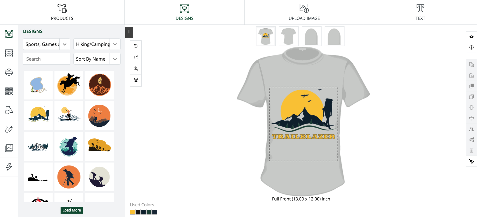 Getting to know ScreenShots Inc's online T-Shirt and Product Designer